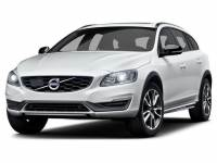 Crystal White Pearl Used 2017 Volvo V60 Cross Country T5 AWD For Sale in Moline IL | S19196A