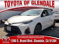 Used 2017 Toyota Corolla for Sale at Dealer Near Me Los Angeles Burbank Glendale CA Toyota of Glendale | VIN: 5YFBURHE9HP736938