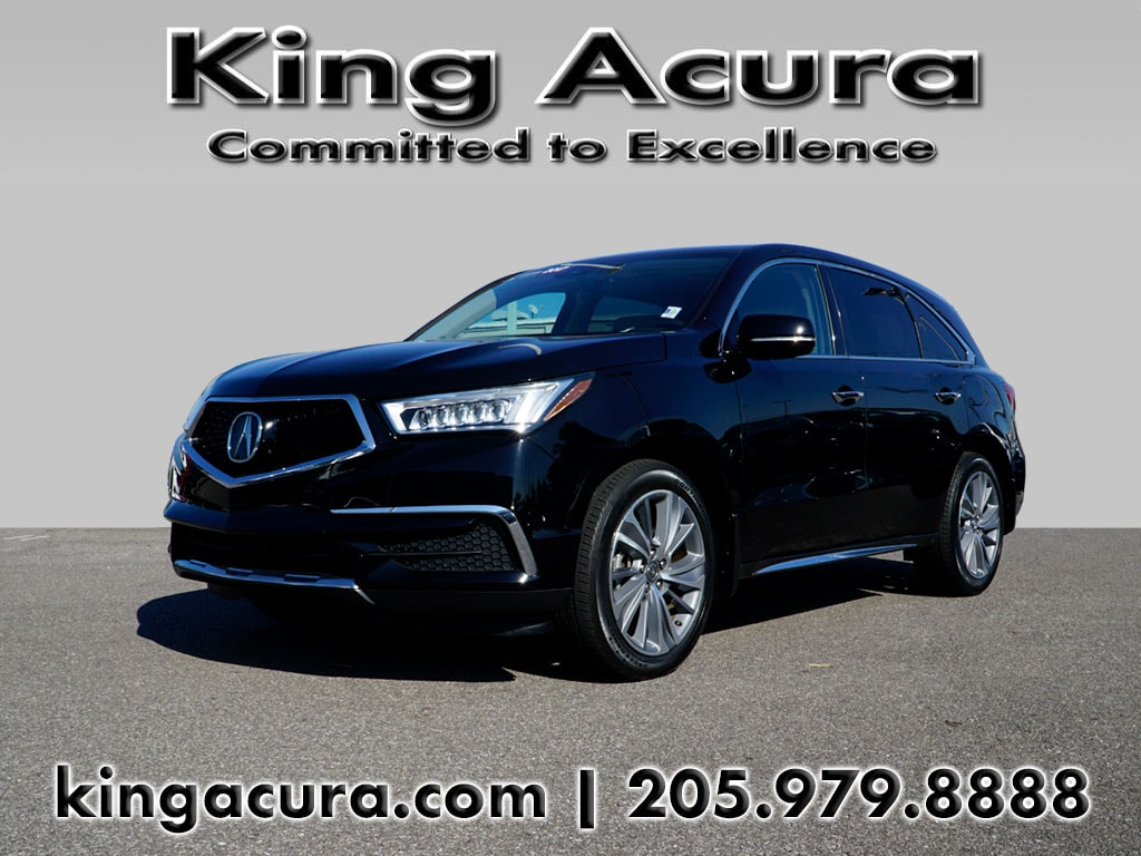 Photo Certified Pre-Owned 2017 Acura MDX FWD wTechnology Pkg for Sale in Hoover near Homewood, AL
