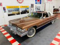 1975 Cadillac DeVille - COUPE DEVILLE DELEGANCE - NEW WHEELS AND TIRES - DRIVES GREAT - SEE VIDEO