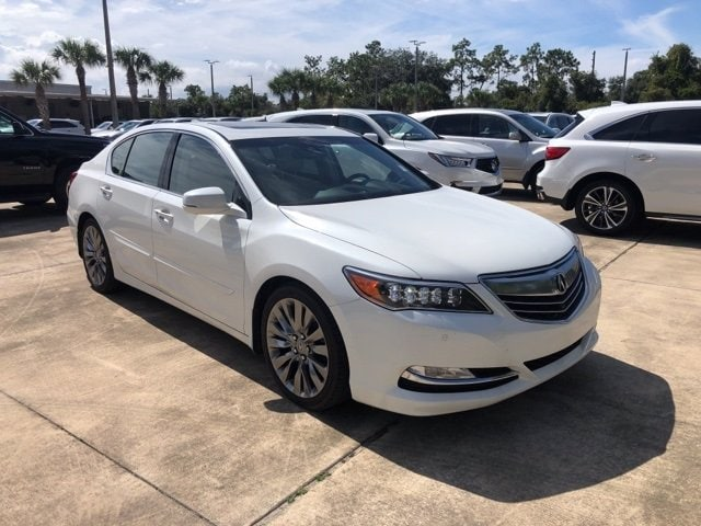 Photo Used 2016 Acura RLX For Sale in Jacksonville at Duval Acura  VIN JH4KC1F93GC000643