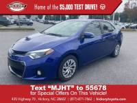 Used 2016 Toyota Corolla 4dr Sdn CVT Auto S