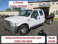 Used 2005 Ford F-350 4x2 Crew-Cab Tipper Flatbed