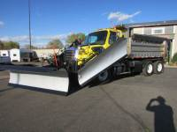 Used 2013 Freightliner 114SD Dump/Plow Truck with 2 Wings and Sander