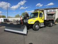 Used 2006 Freightliner M2 Plow/Dump Truck with Wing Blade