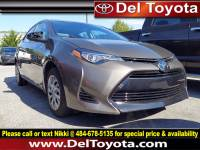 Used 2017 Toyota Corolla LE For Sale in Thorndale, PA | Near West Chester, Malvern, Coatesville, & Downingtown, PA | VIN: 2T1BURHE8HC938671