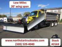 Used 2013 Freightliner 114SD Dump-Plow Truck with 2 Wings and Sander