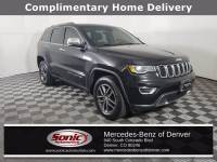 Pre-Owned 2017 Jeep Grand Cherokee Limited 4x4 SUV in Denver