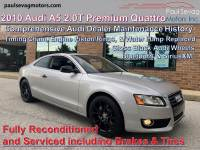 Used 2010 Audi A5 2.0T Premium Quattro Coupe For Sale at Paul Sevag Motors, Inc.   VIN: WAUCFAFR3AA001272