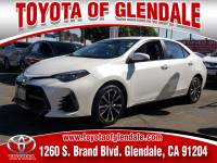 Used 2017 Toyota Corolla for Sale at Dealer Near Me Los Angeles Burbank Glendale CA Toyota of Glendale | VIN: 5YFBURHE5HP677127