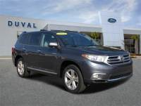 Used 2013 Toyota Highlander For Sale in Jacksonville at Duval Acura   VIN: 5TDYK3EH6DS100748