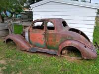 1935 Plymouth 2 Door Coupe