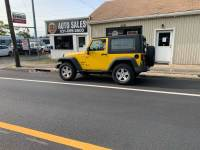 2008 Jeep Wrangler 4x4 X 2dr SUV w/Side Airbag Package