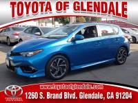 Used 2017 Toyota Corolla iM for Sale at Dealer Near Me Los Angeles Burbank Glendale CA Toyota of Glendale | VIN: JTNKARJE7HJ552388