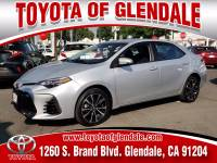 Used 2017 Toyota Corolla for Sale at Dealer Near Me Los Angeles Burbank Glendale CA Toyota of Glendale | VIN: 5YFBURHE3HP734022