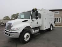 Used 2006 International 4400 Ex-Cab Enclosed Utility Truck