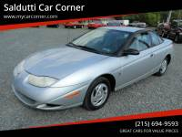 2002 Saturn S-Series SC1 3dr Coupe
