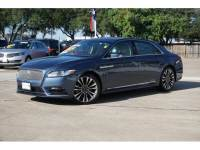 2018 Lincoln Continental Select 4dr Sedan