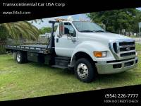 2015 Ford F-650 Super Duty 4X2 2dr Regular Cab 158-260 in. WB