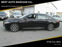 2017 Lincoln Continental AWD Livery 4dr Sedan