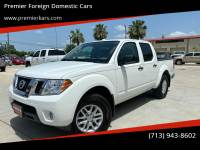 2018 Nissan Frontier 4x4 SV 4dr Crew Cab 5 ft. SB 5A