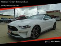 2019 Ford Mustang EcoBoost Premium 2dr Convertible