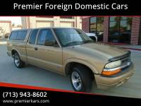 1999 Chevrolet S-10 2dr LS Extended Cab SB