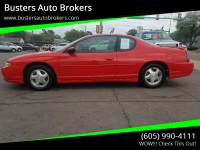 2001 Chevrolet Monte Carlo SS 2dr Coupe