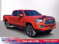 2016 Toyota Tacoma 4x4 TRD Sport 4dr Double Cab 6.1 ft LB