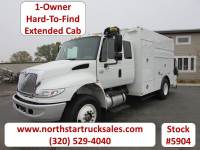 Used 2006 International 4400 Ext-Cab Enclosed Utility Truck
