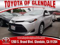 Used 2017 Toyota Corolla for Sale at Dealer Near Me Los Angeles Burbank Glendale CA Toyota of Glendale | VIN: 5YFBURHE6HP667786