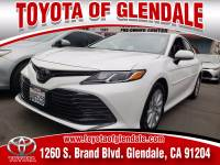 Used 2018 Toyota Camry for Sale at Dealer Near Me Los Angeles Burbank Glendale CA Toyota of Glendale | VIN: 4T1B11HK7JU047081