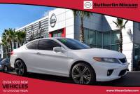 USED 2013 Honda Accord Coupe EX-L 2DR