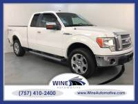 2010 Ford F-150 4x4 Lariat 4dr SuperCab Styleside 6.5 ft. SB