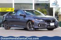 New 2020 Honda Civic Hatchback EX Hatchback For Sale or Lease in Soquel near Aptos, Scotts Valley & Watsonville