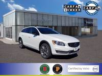 Certified Used 2017 Volvo V60 Cross Country T5 AWD in Crystal White Pearl For Sale in Somerville NJ   SP0127