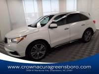 Certified 2020 Acura MDX SH-AWD with Technology Package in Greensboro NC