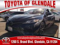 Used 2018 Toyota Camry for Sale at Dealer Near Me Los Angeles Burbank Glendale CA Toyota of Glendale | VIN: JTNB11HK2J3021543