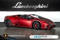 Used 2020 Lamborghini Huracan EVO Spyder For Sale Richardson,TX | Stock# LC660 VIN: ZHWUT4ZF6LLA13677