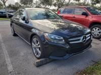 Quality 2017 Mercedes-Benz C-Class West Palm Beach used car sale