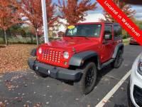 2014 Jeep Wrangler 4x4 Sport 2dr SUV