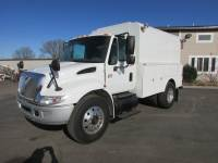 Used 2005 International 4300 DT-466 In-Closed Utility Truck