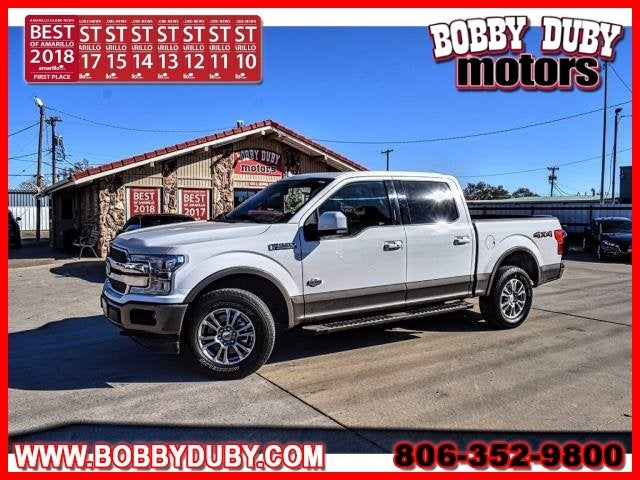 Photo 2020 Ford F-150 King Ranch - Ford dealer in Amarillo TX  Used Ford dealership serving Dumas Lubbock Plainview Pampa TX