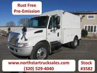 Used 2005 International 4300 DT-466 Enclosed Utility Truck