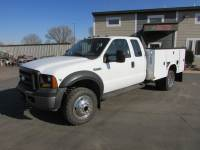 Used 2006 Ford F-450 4x4 Ex-Cab Service Utility Truck