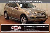 Pre-Owned 2009 Mercedes-Benz M-Class 3.5L in Fort Myers