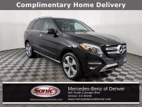 Certified Pre-Owned 2017 Mercedes-Benz GLE 350 4MATIC SUV in Denver