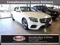 Certified Pre-Owned 2017 Mercedes-Benz E-Class E 300 4MATIC Sedan in Denver
