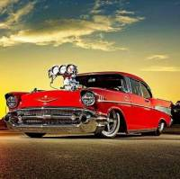 1957 Chevrolet Bel Air Fuel Injected -