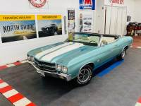 1970 Chevrolet Chevelle - CONVERTIBLE -SUPER SPORT TRIBUTE - 454 ENGINE - 5 SPEED TRANS - SEE VIDEO